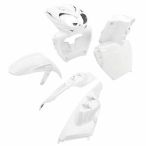 Set-Fairings-White-7-Pcs-MBK-50-Ew-Stunt-2004-2010