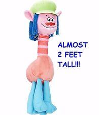 "NEW! Hasbro DreamWorks Trolls Cooper LARGE Hug 'N Plush Doll - 23"" Almost 2 ft!"