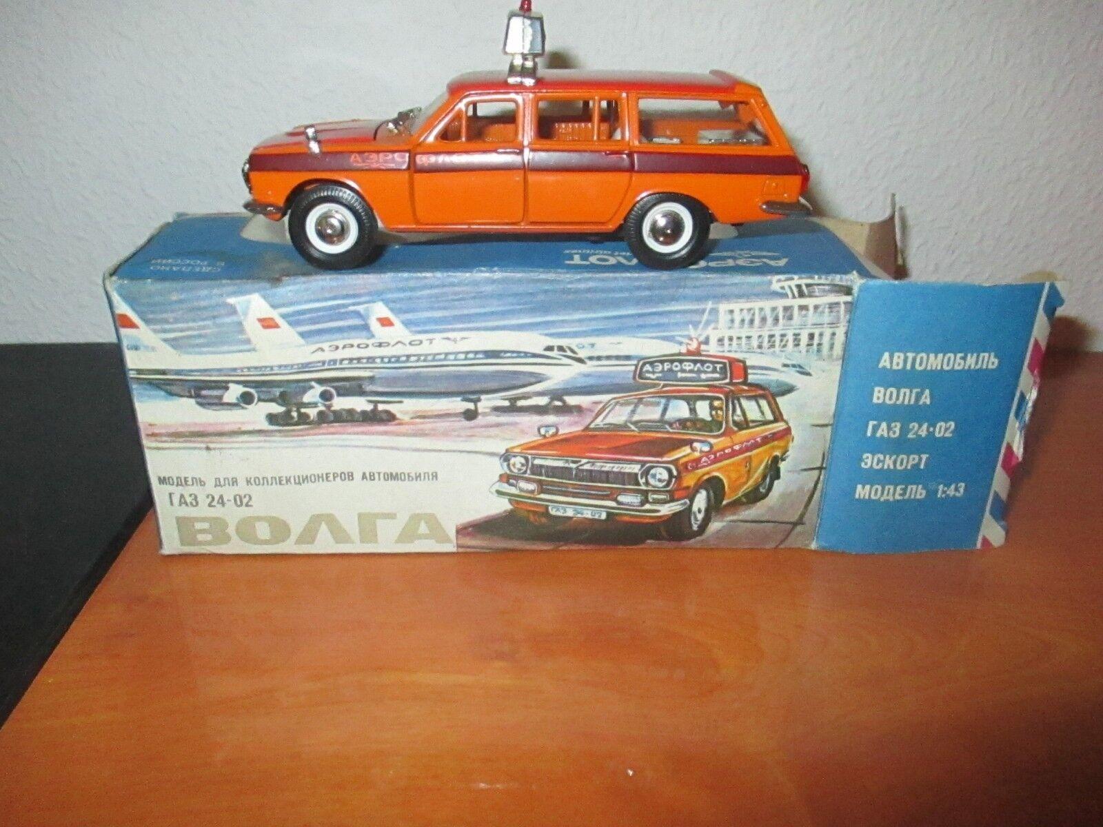 GAZ 24 VOLGA AEROPORT échelle 1 43 made in URSS MOSKVICH