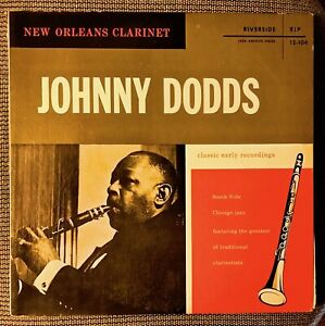 JOHNNY-DODDS-Classic-Early-Recordings-South-Side-Chicago-Jazz-Riverside-LP