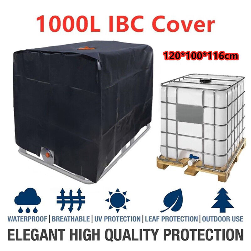 1000 liters IBC container aluminum foil waterproof dustproof cover Oxford clo HL