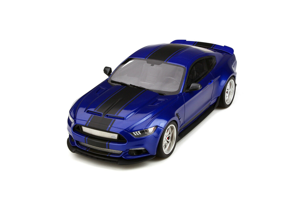 GT SPIRIT GT238 Ford Shelby GT-350 Widebody Deep Impact Blu 1 18