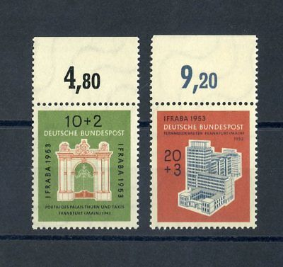 Bund Nr.171-172 ** Oberrandsatz Ifraba 1953 !!! Brd Ab 1948 Brd 1948-1954 104361