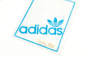 80s adidas Originals set of 3 vintage plastic bags nylon printed in France