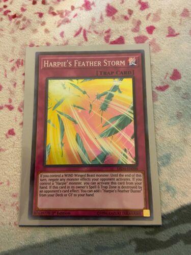 Harpie/'s Feather Storm LED4-EN000 Super 1st NM