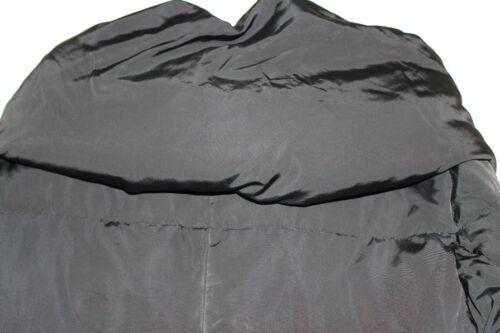 en 1 avec Luxe duvet collier Veste de taille Madison noire grand 51qqxO4n