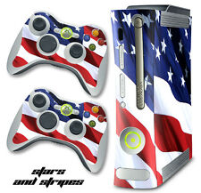 Skin Decal Wrap for Xbox 360 Original Gaming Console & Controller Xbox360 USA