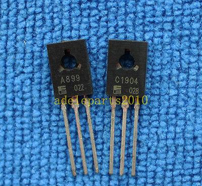 60 PAIRS Transistor FUJITSU TO-126 2SA899//2SC1904 A899//C1904