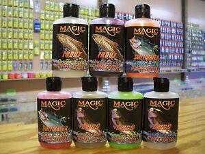 Magic Faststrike Gel,Fish Attractant,Fis<wbr/>hing Scents,Trout,B<wbr/>ass,Walleye,Sa<wbr/>ltwater