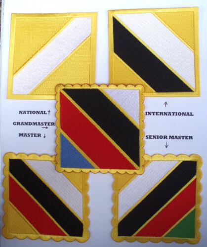 Istruttore Identificazione ufficiale Dobok ITF TAEKWONDO