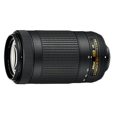 Nikon AF-P DX NIKKOR 70-300MM F/4.5-6.3G ED VR (With 2 Years Nikon Warranty)