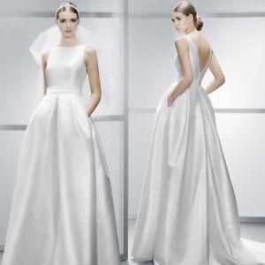 Luxus-schlichtes-Brautkleid-Hochzeitskleid-Kleid-Braut-Babycat-collection-BC588