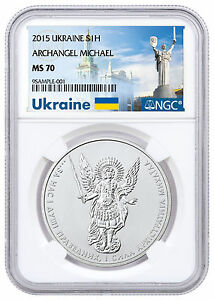 Deal-2015-Ukraine-1-oz-Silver-Archangel-Michael-NGC-MS70-Ukraine-Label-SKU48625