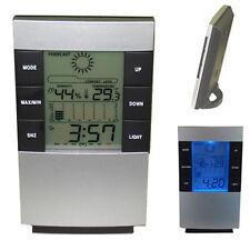 Auto LCD Digital Anzeige Gehäuse Spannungstester Uhr Quader Thermometer Sensor