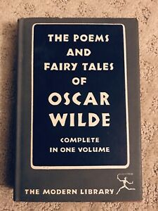 Details About The Poems And Fairy Tales Of Oscar Wilde Modern Library Edition