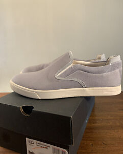 MATEO CANVAS SLIP ON SNEAKERS SEAL SIZE