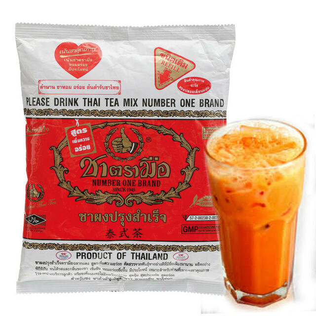 Number One Brand Thai Iced Tea Mix 400g Bag Imported Fast From Usa