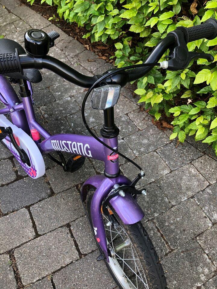 Pigecykel, citybike, Mustang