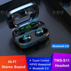 Auriculares Bluetooth Inalambrico S11 Tws 5 0 Auriculares Sport En Auriculares Estereo Ebay