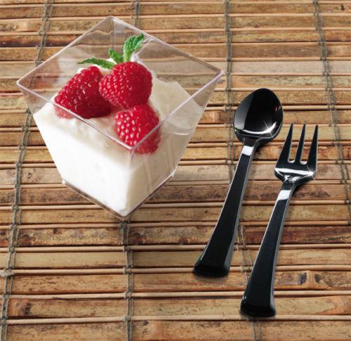 Joblot of 252 mini 2oz Plastic Cups - - - - for parties, desserts, puddings etc.