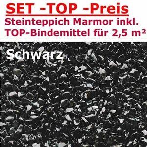 2 5m Set Alle Farben Steinteppich 2k Bindemittel Steinchenteppich
