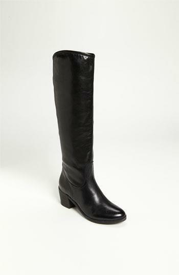 SAM EDELMAN, Women's Loren Dress Riding Boots, Black Leather, 6.5M, NWB! $225