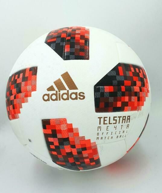 Cuota de admisión asentamiento soltero  adidas 2018 FIFA World Cup Russia Telstar KO Official Match Ball Size 5  Cw4680 for sale online | eBay