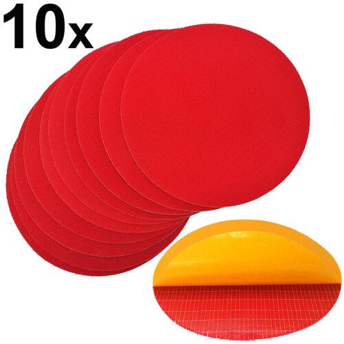 10x Haftscheibe 125mm selbstklebende Klettscheibe Tellerschleifer Klett Scheibe