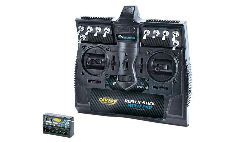 Carson reflex Stick multi pro 2,4ghz, canal 14 - 500501003