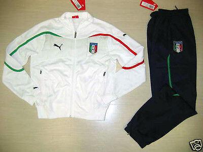 0702 TG 14 ANNI  ITALIA TUTA BAMBINO JUNIOR TRACKSUIT SURVETEMENT SUDADORA ITALY
