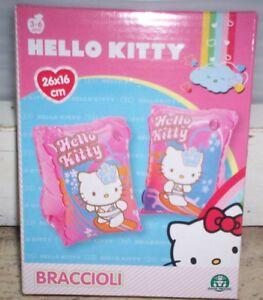 Braccioli Hello Kitty.Dettagli Su Braccioli Hello Kitty 26x16
