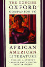 The Concise Oxford Companion to African American Literature by Oxford University Press Inc (Paperback, 2001)