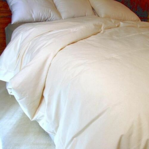 Lightweight Summer Naturally Organic Eco-Valley Wool Comforter Certified TWIN