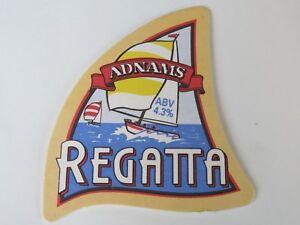 1998 Bière Dessous De Verre : Adnams Regatta Doré Ale ~ Southwold,angleterre Atgwqhnn-08012545-116251257