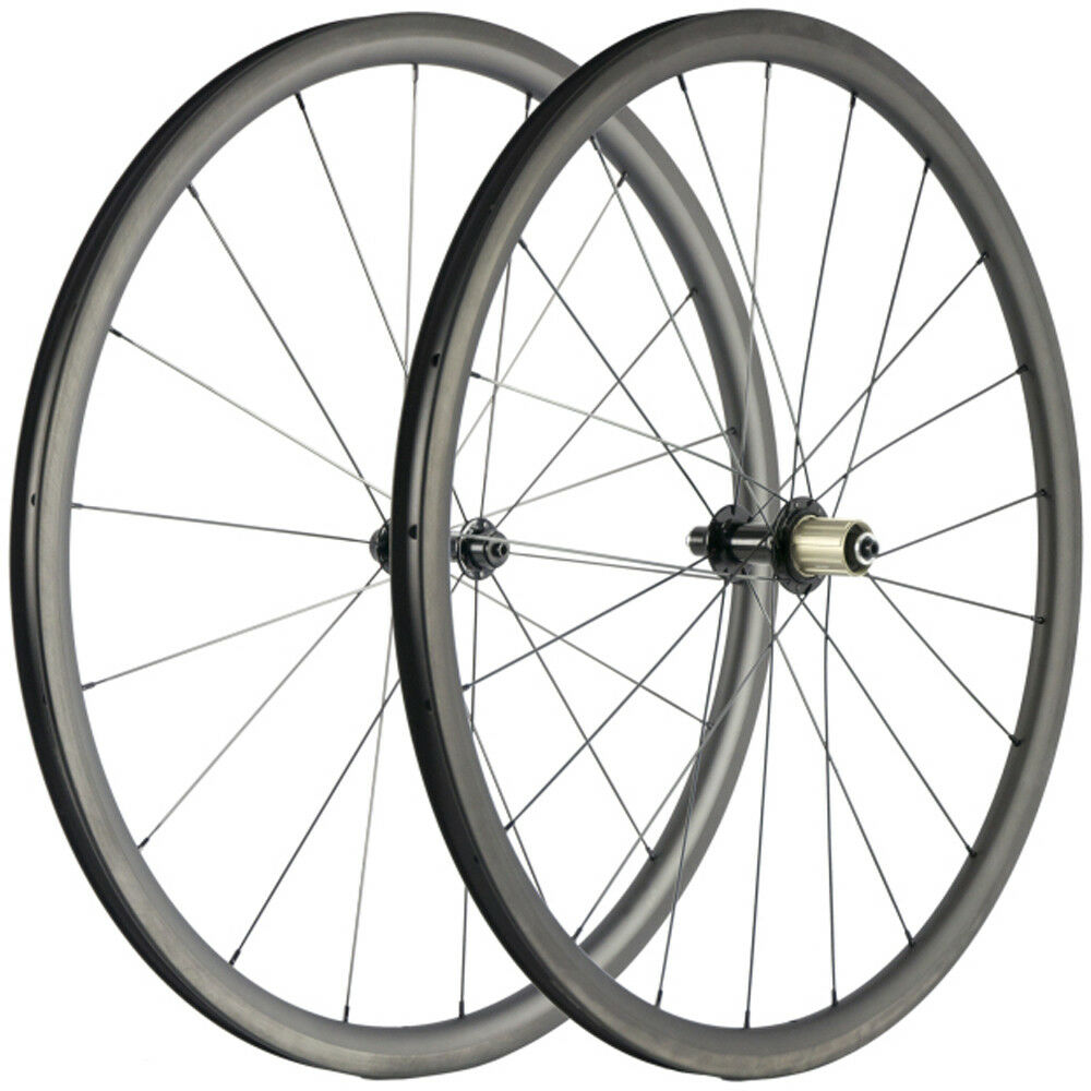 New 30mm  Carbon Wheelset Clincher 25mm U shape Road Bike 700C Carbon Fiber Wheel  selling well all over the world