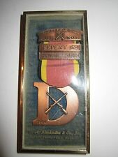 1964 TRINITY RIFLE CLUB SHOOTING MEDAL - EXPERT 2ND - BLACKINTON IN THE CASE