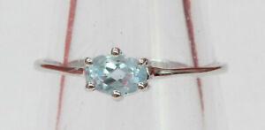 Edler-0-55-Carat-Blautopas-Ring-925-Silber-himmelblauer-Topas-sky-blue-Fingerrin