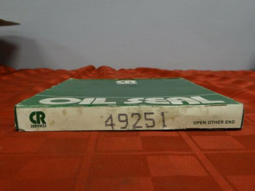49251 Oil Seal *New in Box* New Old Stock Details about  /Chicago Rawhide P//N
