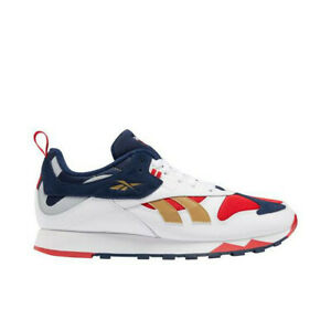 reebok red white blue shoes