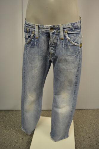 Custom Star Slacks Tuyau c Bouton S Mouche G W32 Jeans Blau L32 core Herren Denim 4XBWZTnS