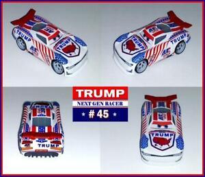 DISNEY-PIXAR-CARS-3-CUSTOM-NEXT-GEN-RACER-45-TRUMP-2020-PISTON-CUP-RACER-NEW