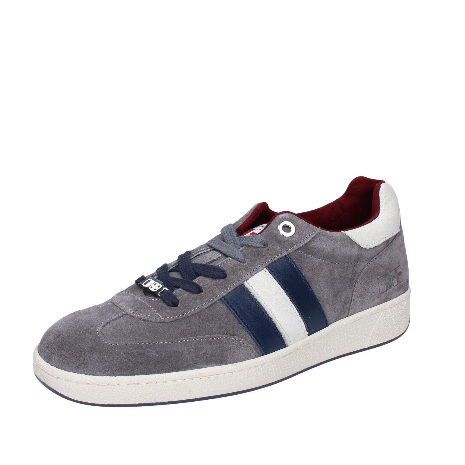 Chaussures Hommes D'ACQUASPARTA 7 (UE 40) baskets grises en daim AB871-40