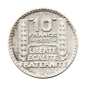 KM-878-10-Francs-Silver-680-France-1930-F