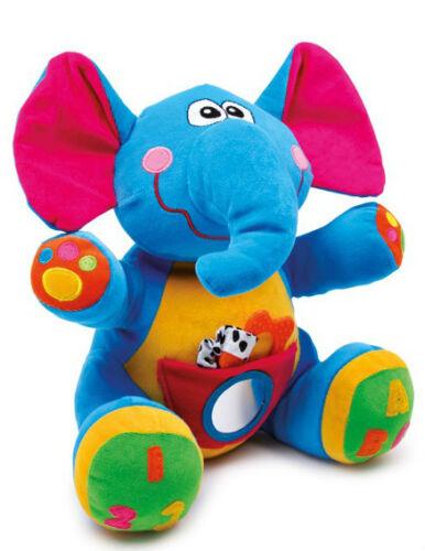 Kuscheltier Elefant  Kinder-Baby-Spielzeug  Schmusetier Beissring