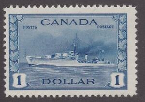 Canada 1942 #262 Destroyer, Royal Canadian Navy - MNH F