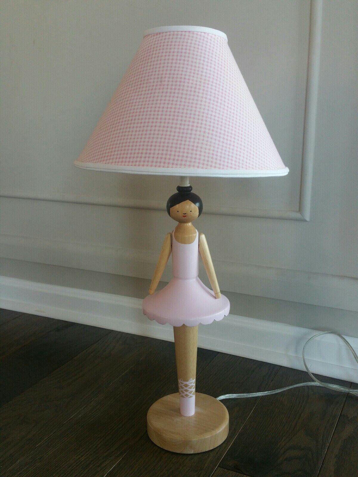 POTTERY BARN Kids Ballerine Lampe Base-Avec Gratuit abat-jour-Rose Ballet Tutu