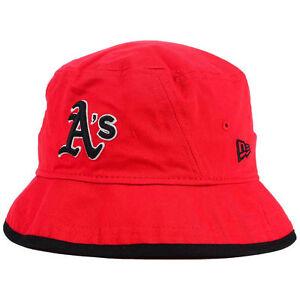 9933d1260f2 Oakland Athletics New Era MLB Bucket Dub Cap Hat Floppy Beach Sun ...