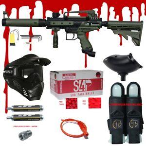 Tippmann Cronus Tactical 68 Cal Paintball Gun Kit Ready Play