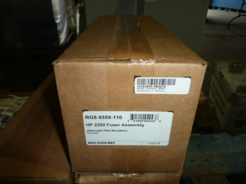 genuine refurb HP Laserjet 2200 Printer 110V Fuser Kit RG5-5559 rg5-5559-110
