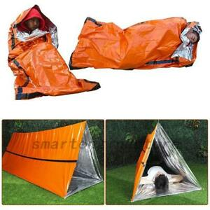 Reusable-Emergency-Sleeping-Bag-Thermal-Outdoor-Survival-Camping-Travel-Lot